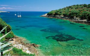 Giannutri isola dell'Arcipelago Toscano