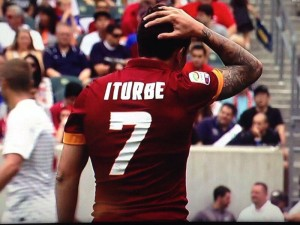 Iturbe torna a giocare con la Roma