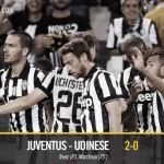Juve vince sull'Udinese 2-0