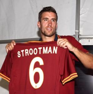 Strootman della Roma