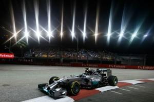 Mercedes a Singapore