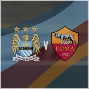 Man City FC e  AS Roma