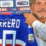 Massimo Ferrero avances a Ilaria D'Amico
