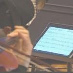 tablet al posto degli spartiti musica 2.0