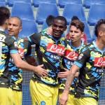 Napoli Calcio in campo