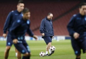 Rafa Benitez tecnico del Napoli
