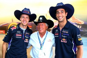 Vettel e Ricciardo della Red Bull