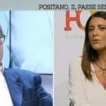 Vittorio sgarbi insulta Pina Picierno