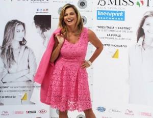 conferenza stampa Miss Italia 2014