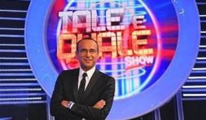 Carlo Conti conduce Tale e Quale Show