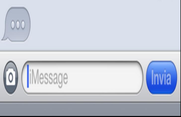 quanto possono influenzare bolle di testo imessage whatsapp