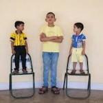 bambino più alto del mondo foto