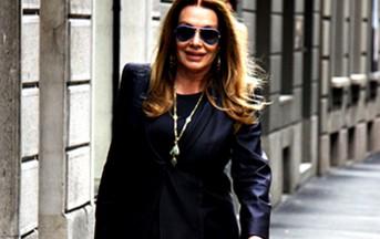 Veronica Lario milionaria: shopping di lusso per le vie di Milano