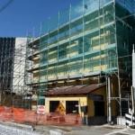crollo solaio edificio a Portici