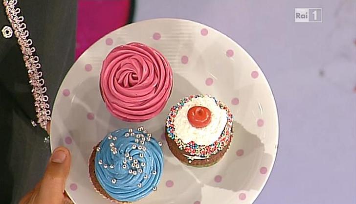 Ricette dolci dopo il tigg il tris di cupcakes di ambra for Dolci romani