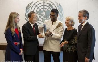 Greenpeace: Ban Ki-moon riceve 6 milioni di firme per salvare l'Artico