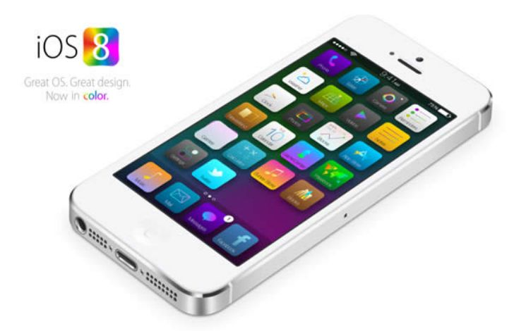 iOS 8 aggiornamento per iPhone e iPad