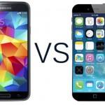 iPhone 6 e Galaxy S5 a confronto