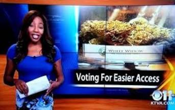"""Dimissioni reporter americana in diretta tv: """"F**k, lascio. Voglio dedicarmi alla Marijuana in Alaska"""" (VIDEO)"""