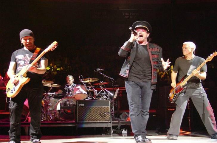 U2 Tour Italia 2017