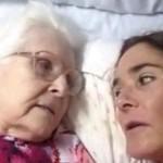 malata alzheimer riconosce figlia