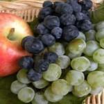 maschera purificante fai da te uva e mela