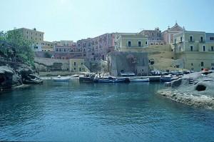 Ventotene isola dell'arcipelago delle Pontine