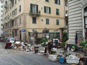 Foto alluvione Genova esclusiva Urbanpost