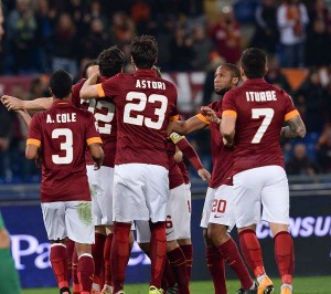 Roma contenta