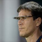 il tecnico Rudi Garcia della Roma