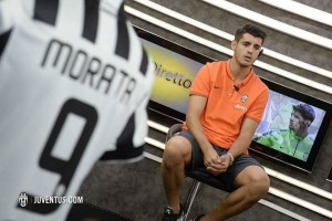 Morata della Juventus