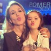 Barbara D'Urso Ginevra Angelucci figlia di Salvatore e Karina Cascella a Pomeriggio 5