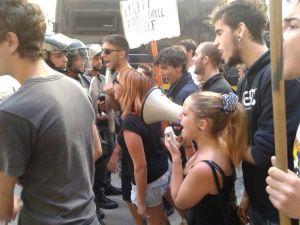 palermo protesta studenti
