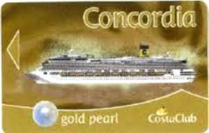 Cimeli Costa Concordia distrutti