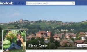 Elena Ceste chat con uomini su Facebook