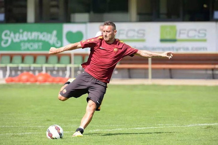 Totti capitano della Roma