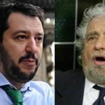 Matteo Salvini appello a Beppe Grillo