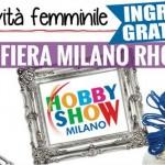Hobby Show fiera creatività Milano 2014