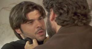 Il Segreto Tristan aggredisce Gonzalo