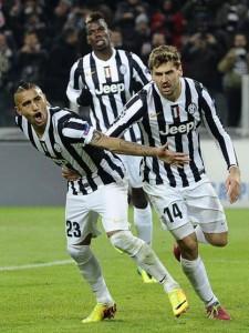 Vidal della Juve
