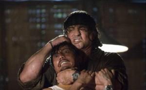 John Rambo (Sylvester Stallone) su Rete4