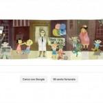 Jonas Salk doodle Google 2014
