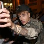 Bieber con i fans