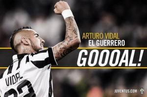Vidal della Juventus