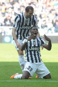 Asamoah della Juventus