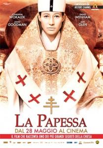su Canale 5 La Papessa