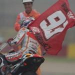 Marquez sulla sua Honda