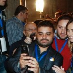 Maria Elena Boschi selfie alla Leopolda
