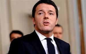 Matteo Renzi alluvione Genova