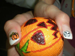 Idee unghie trendy Halloween 2014
